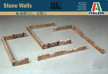 Out of print! ITALERI Military Model 1/72 Accessories Stone Walls Scale Hobby 6127 T6127