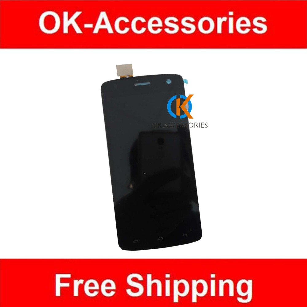 For Fly IQ4503 LCD Display+Touch Screen Digitizer Assembly  High Quality Black White Color 1PC/Lot<br><br>Aliexpress