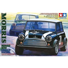 OHS Tamiya 24130 1/24 Morris Cooper Racing Scale Assembly Car Model Building Kits