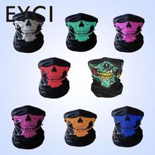 EYCI Outdoor Sports Hunting Bicycle Cycling Skateboard Motorcycle Skull Ghost Ski Riding Hat Balaclava Protect Face Mask