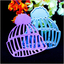 New Winter Hat Cap Design Metal Cutting Dies Stencils for DIY Scrapbooking Embossing Album Paper Cards Making Decorative Crafts(China)