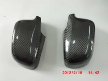 Carbon Fiber  Mirror Cover  For Mitsubishi Evolution EVO 4 5 6