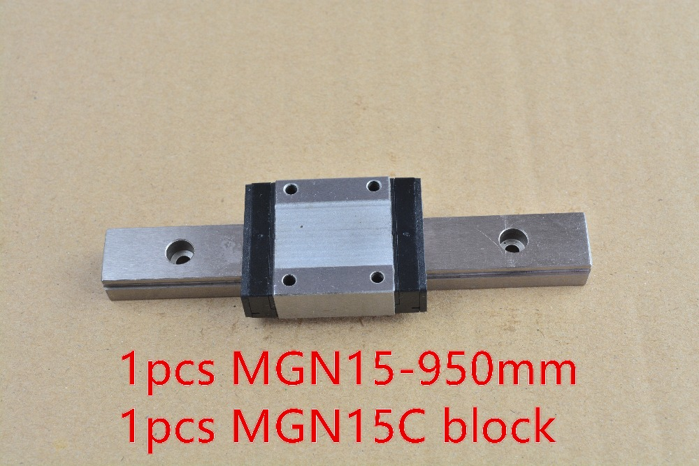 MR15 15mm linear rail guide MGN15 length 950mm with MGN15C or MGN15H linear block linear guide way 1pcs<br><br>Aliexpress