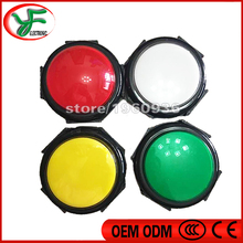 2pcs Diameter 100mm button/100 type convexity push button/Round pushbutton for one touch game/western cow boy slot game machine