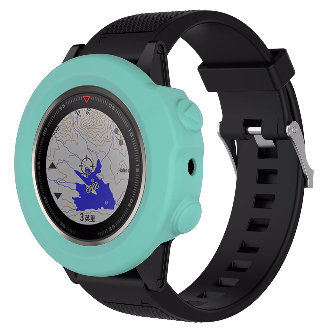 Colorful Silicone Wristband Bracelet Protector Band Cover Case Skin Protector For Garmin Fenix 5X GPS Watch
