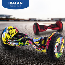 IRALAN Hoverboard 10inch self Balance scooter Standing Smart two wheel Skateboard drift balancing scooter electric ul2272