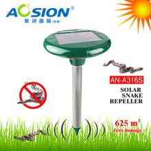 Aosion AN-A316S outdoor Garden Tool Solar Powered Sanke Repeller mole rat rodent chaser control yard field lawn guard(China)