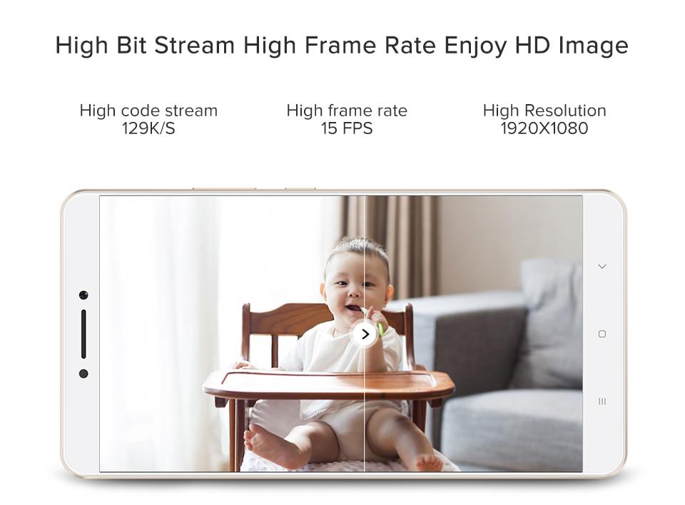 Original Xiaomi Mijia IP Camera Dafang Smart Monitor 110 Degree 1080p HD Intelligent Security WIFI Night Vision For Mi Home App (3)