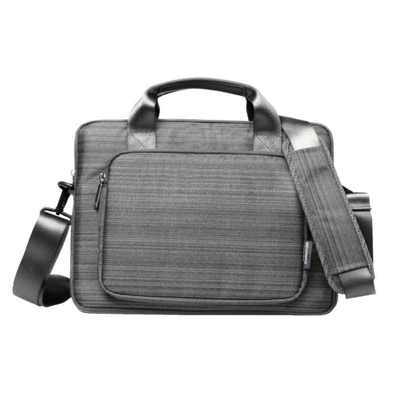 Wholesale Price Mens Bag for Macbook Air 13 Pro Waterproof Denim Laptop Computer Bag With Retina Grey Notebook Bag Case 15.6<br><br>Aliexpress