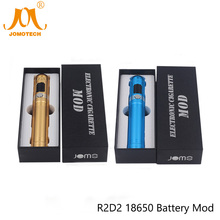Original JomoTech R2D2 18650 Battery Mod 510 & Ego OLCD Electronic Cigarette Variable Wattage Mod for Protank MT3 H5 Jomo-89(China)
