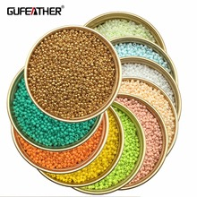 GUFEATHER Z81/2MM Beads/jewelry accessories/charms/beads & jewelry making/diy/seed beads 20g/bag(China)