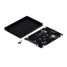 Hot-sale M.2 Hot NGFF SSD to 2.5' SATA adapter Card Case SATA Adapter Stock With Screws Gifts