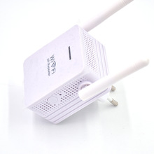 Through the wall 300Mbps double antenna wireless AP repeater Wifi network signal amplifier WLC26(China)