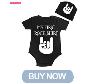 my first rock shirt and cap buy now