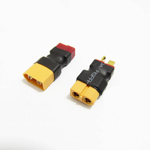 Buy 2PCS XT60 Male Deans Plug Female T Connector Adapter XT60 Female T Dean Male Plug Car Plane Lipo Battery Charger RC for $2.80 in AliExpress store