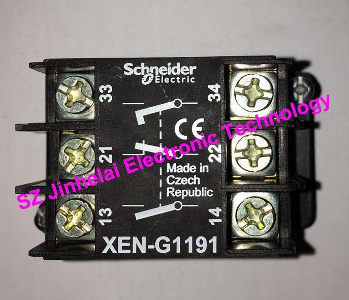 100% New and original  XEN-G1191 (XENG1191)    Button contact    Contact Block<br>