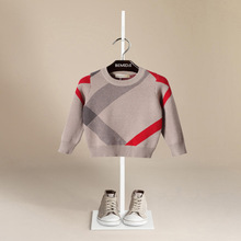 Hot Sale Boy Sweater 2017 Autumn Brand Design Wool Knitted Pullover Cardigan For Baby Girls Children Clothes Kids Infant Top