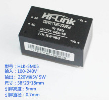 220v 5V ac - DC isolated power supply module, HLK-5M05, switching step-down 5w power module(China)