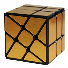 2017 New Moyu Mofangjiaoshi WindMirror 3Layers Cube Windmill Magic Cube Twist Puzzle Speed Cube Special Toys 3x3x3(China)