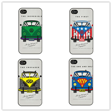 Vw Volkswagen Bus Campervan Phone Case for iphone 7 7 plus 6 6s plus 5 5s 5c SE 4 4s for samsung S6 S7 EDGE