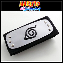 Japan Naruto Headband Leaf Village Logo Members Kakashi Headband Naruto Ninja Costume Cosplay Accessories Boys Girls Gift