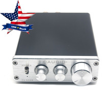 Hifi Digital Amplifier TL082 TDA7498L 68W+68W Amp LM1036 Preamp with Power Supply FX502E USA Stock(China)