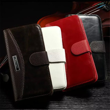 Wallet PU Leather Case For Samsung Galaxy S3 S4 S5 S6 S7 Edge S8 Plus A3 A5 2016 2017 Cover For iPhone 5 5S SE 6 6S 7 Plus