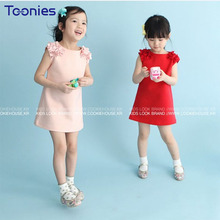 New Baby Girls Summer Dress Sleeveless Vestidos Infantil Child Girl Clothes Children's Wear Princess Dresses Brief Kids Clothing(China)
