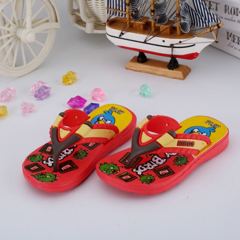 Child Toddler Baby Boys Girls Cute Cartoon Beach Sandals Slippers Flip Shoes DA