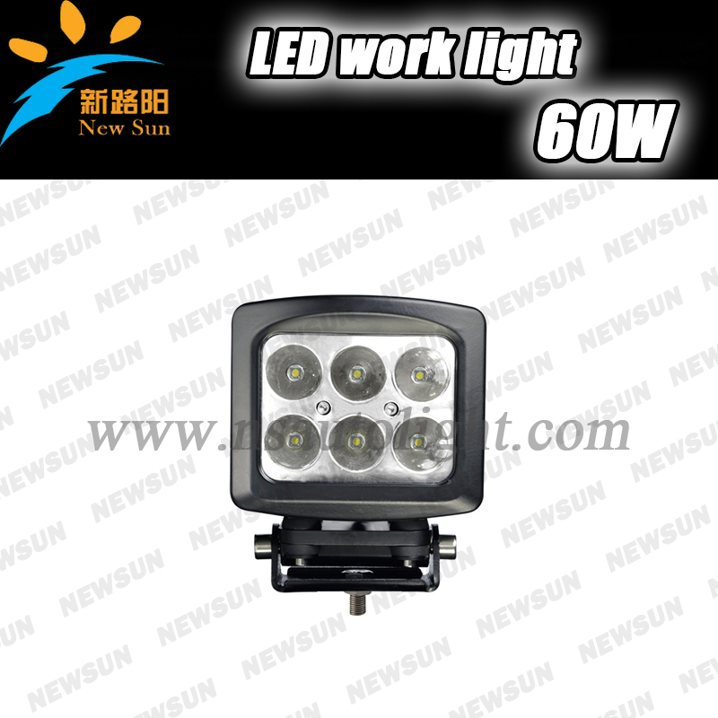 5.3 10-30V 60W LED Work Light Spot beam Cree LED Offroad Boat Driving Lamp AWD SUV ATV Truck Tractor led work light 12v<br><br>Aliexpress