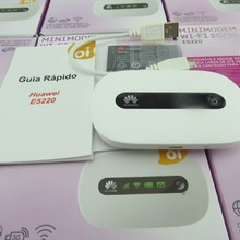 HUAWEI E5220 White Mobile WiFi 3G HSPA 21Mbps Wireless Hotspot Modem Wifi Router