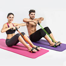 Yoga Resistance Bands Crunches home fitness equipment Rally sport stomach thin waist weight reduction abdominal sporting goods