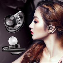 Bluetooth cordless phone headset Clip on Ear headphone bluetooth Earpiece Noise Canceling earphone with mic bluetooth safe