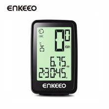 Enkeeo Cycling Bicycle Speedometer Wired Bicycle Computer with USB Rechargeable Ciclocomputador Wired Stopwatch