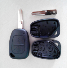 2 Buttons Remote Key Shell for RENAULT Traffic Master Vivaro Movano Kangoo Car Blanks Case(China)