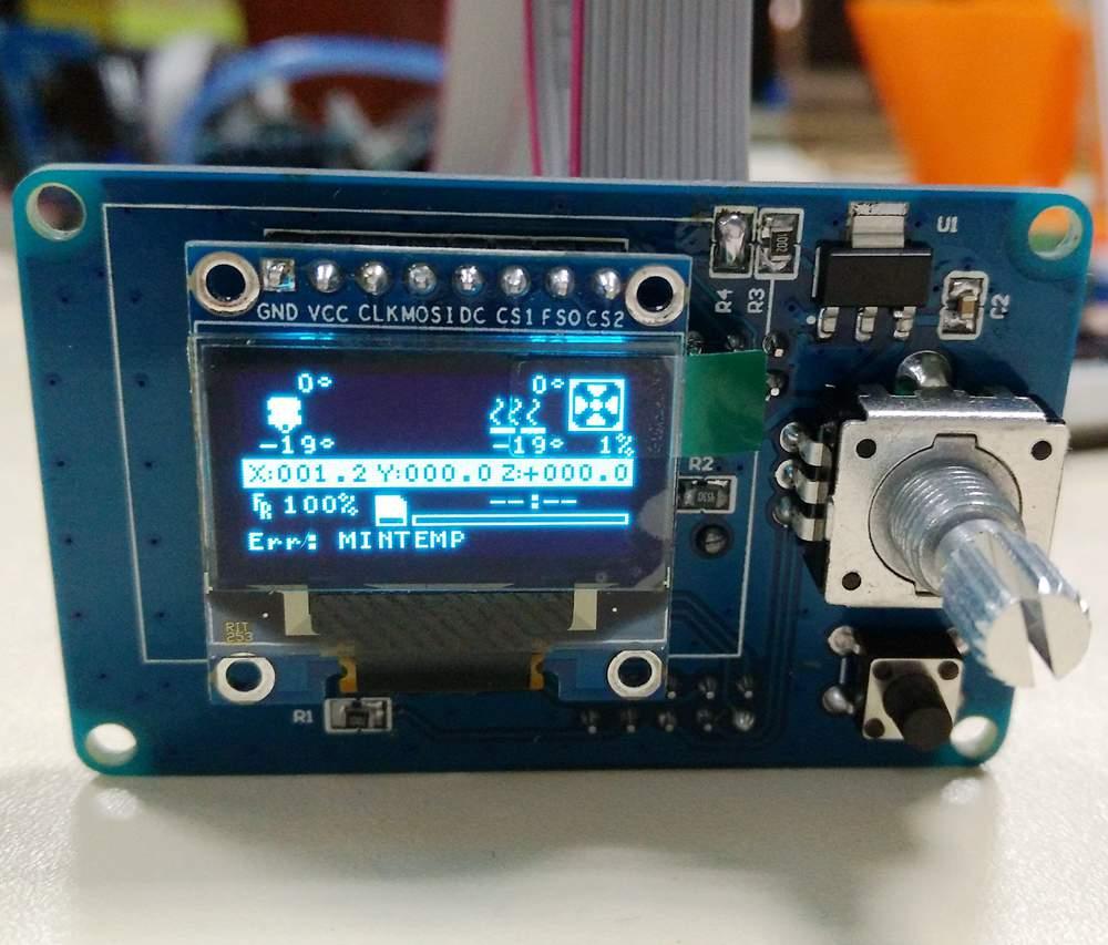 3D printer MKS OLED0.96 intelligent MINI controller OLED controller 12864<br>
