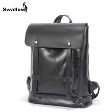 High Quality Vintage Leather Backpack Men Travel Functional Men Backpack Male Bags Large Capacity Fashion Collage Backpacks