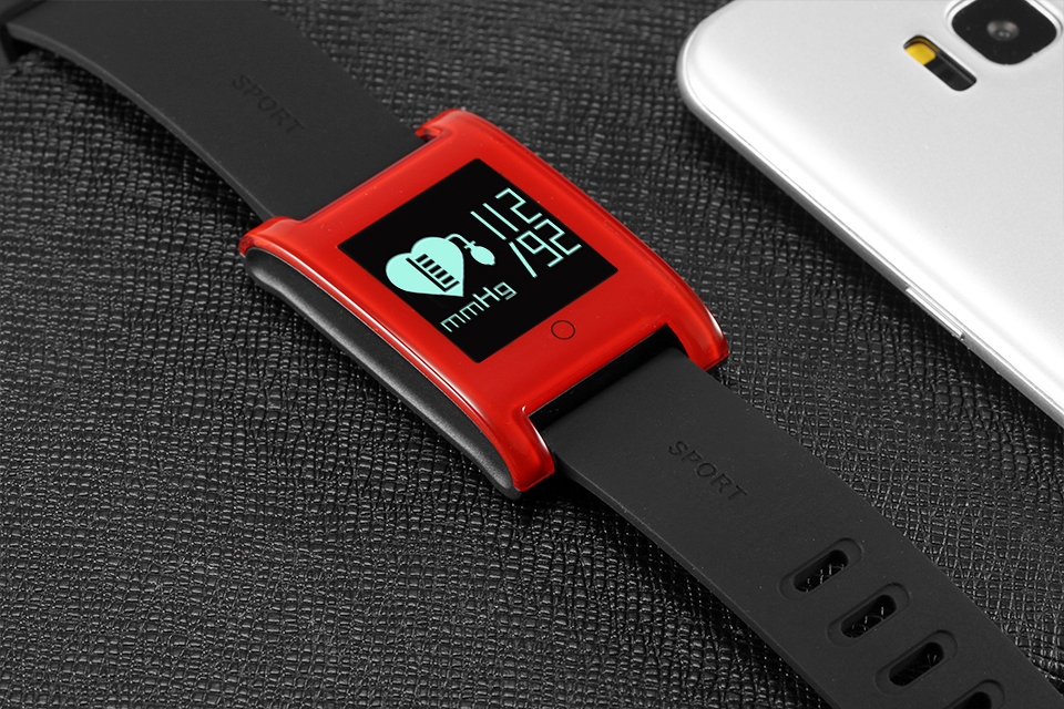 LEMDIOE DM68 waterproof smart band wristband fitness tracker Blood Pressure heart rate monitor Calls Messages watch for phone 28