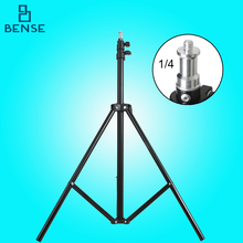 200cm Aluminum alloy Light Stand 1/4 Screw Head photography Stand for Godox Yongnuo Studio flash LED Video light