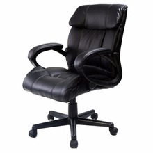 PU Leather Ergonomic High Back Executive Best Desk Task Office Chair Black CB10054(China)