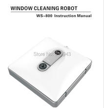 Window cleaning robot,window cleaner with remote control for glass,walls,tables floors and other planes(China)
