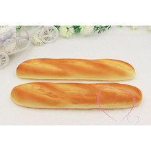 2pcs/lot PU French Baguette Artificial Food fake simulated bread shop DIY party kitchen home decorations sweet wedding gifts