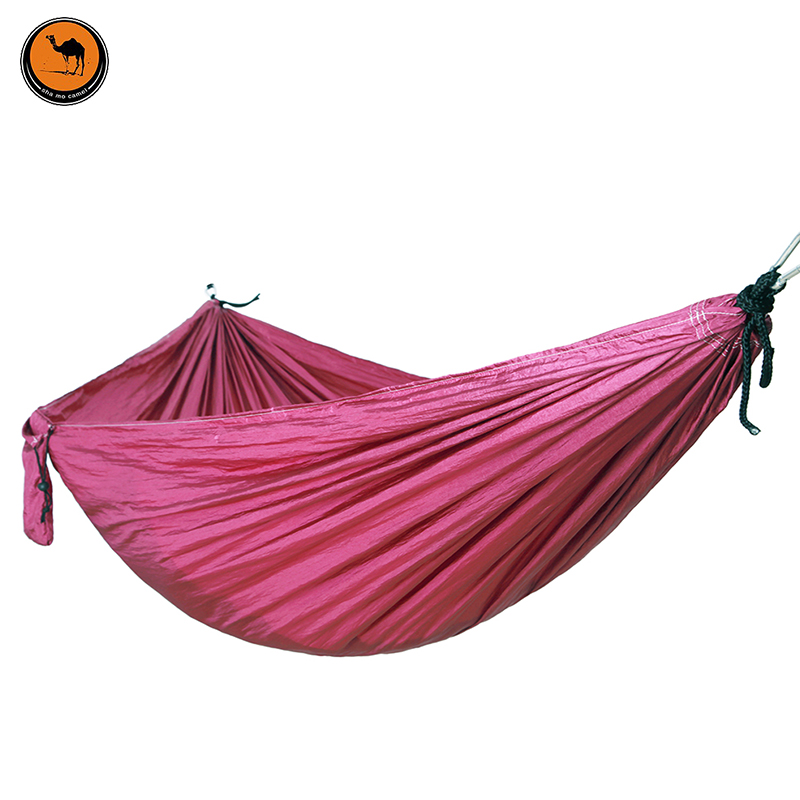 Folding Hammock Dark Purple High Strength Portable Camping Furniture Outdoor Travel<br>