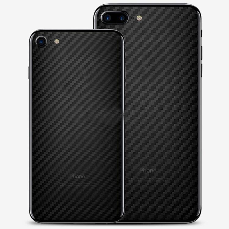 New 2017 Carbon Fiber Sticker For Iphone 7 Plus Back Cover Case Film for Iphone 7+ 5.5 Ultra Thin Protector Phone Skin(China (Mainland))
