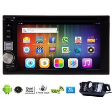 Android 5.1 GPS Navigator Capacitive Touch Screen USB Bluetooth SD Autoradio FM AM Radio Receiver Video PC System Audio Car DVD(China)
