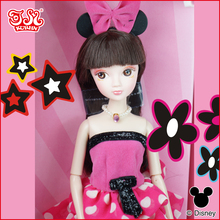 Chinese Plastic Doll Toys 28cm Classic Minnie fashion Kurhn doll 6087-1