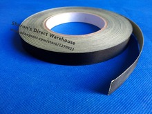 (5mm~60mm width Choose) Black Acetate Cloth Single Adhesive Tape Insulate for Motor Coil Wire LCD, Black Fabric&Glue 30M