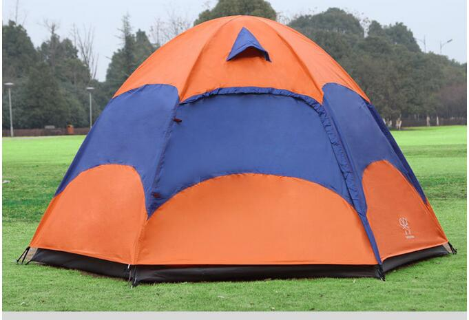 Outdoor Waterproof Camping Tent Breathable UV-Protection Beach Tent With Wind Rope &amp; Ground Nail<br><br>Aliexpress
