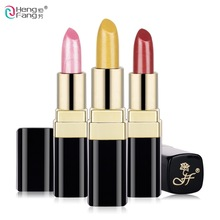 Long-lasting Silky Temptation Lipstick 12 Colors Nutritious Beauty Lips Makeup Brand HengFang 3.5g #H9291(China)