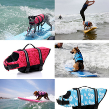 Pet Dog Life Jacket Aquatic Safety Clothes Float Vest Outward Saver Pet Dog Swimming Preserver Large Dog Clothes Summer Swimwear